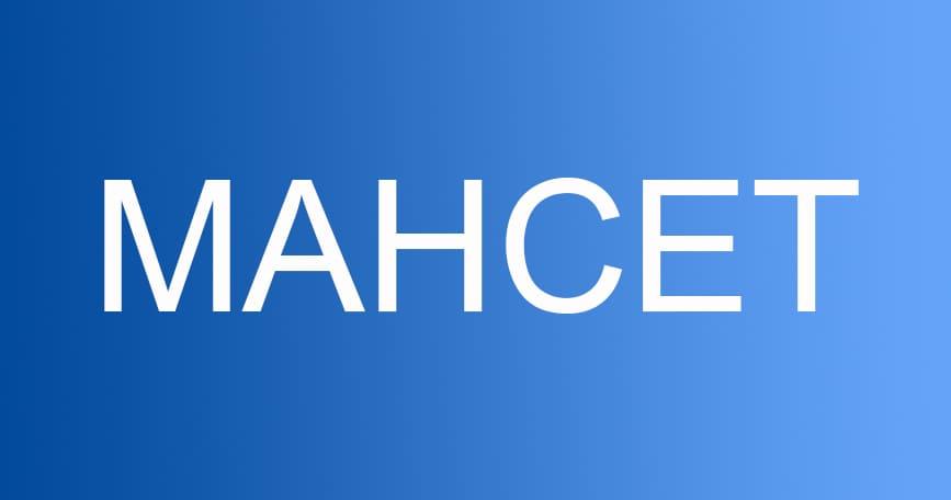 mahcet 2019