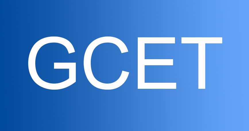 gcet 2019