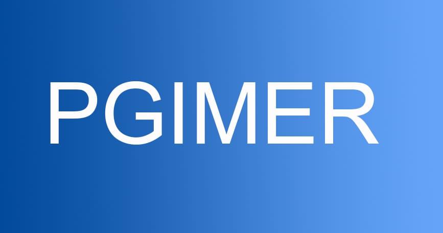 pgimer 2019