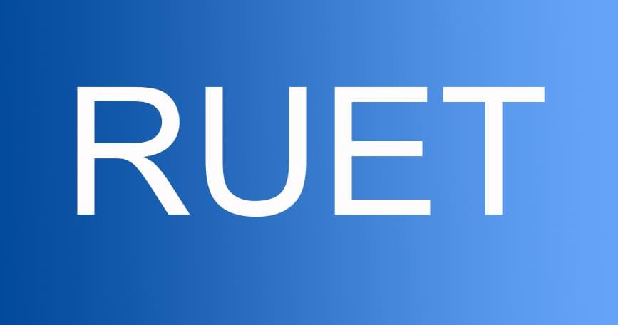 ruet 2019